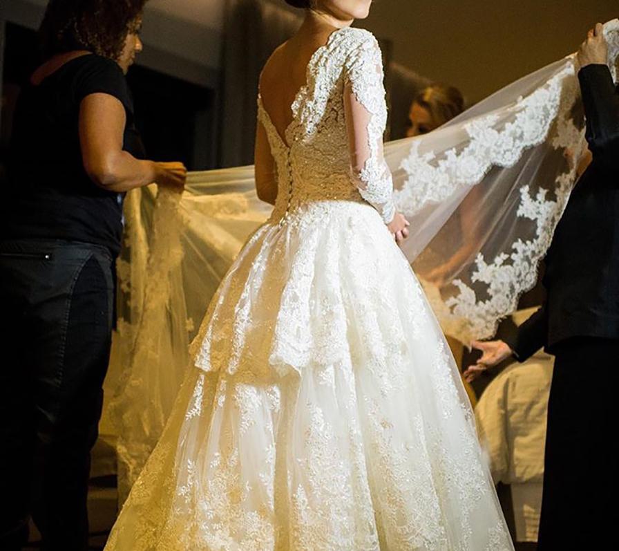 Vestido de noiva Lourdinha Noyama