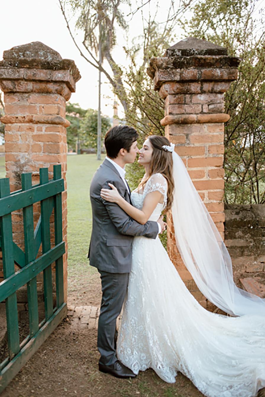 Vestido de noiva usado Elie Saab